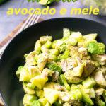 insalata paleo di pollo avocado e mele