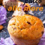 muffins paleo alle more ricetta paleolitica immagine