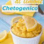 Velocissimo Dolce Al Limone Chetogenico Immagine