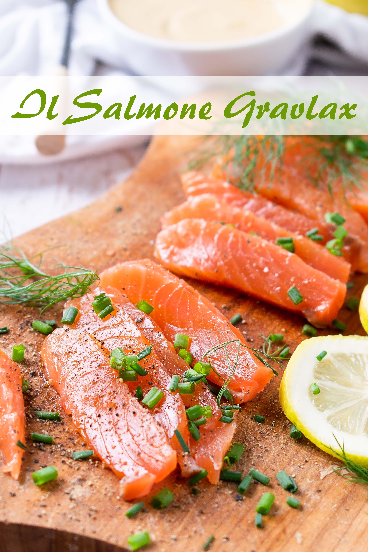 il salmone gravlax paleo