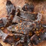 beef jerky fatto in casa immagine