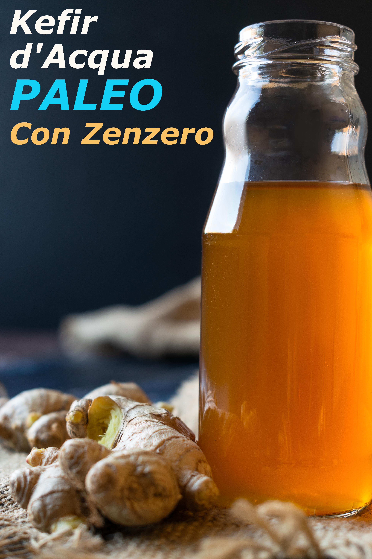 Kefir d'Acqua Paleo Con Zenzero immagine