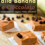Mini Gelati Alla Banana E Cioccolato immagine
