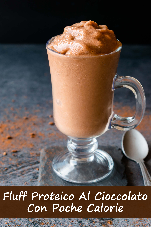 Fluff Proteico Al Cioccolato Con Poche Calorie immagine