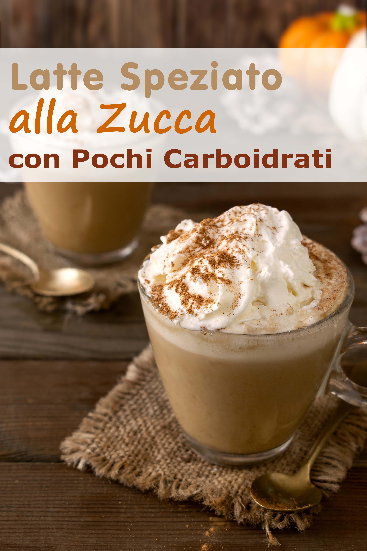 Latte Speziato Alla Zucca Con Pochi Carboidrati immagine