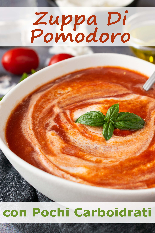 Zuppa Di Pomodoro Con Pochi Carboidrati immagine