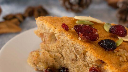 Torta Di Natale Facilissima Senza Glutine E Con Pochi Carboidrati immagine