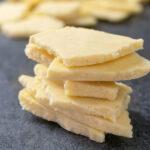 Cioccolato Bianco Senza Zucchero Chetogenico immagine